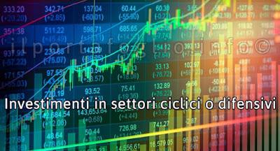 settori ciclici e settori difensivi