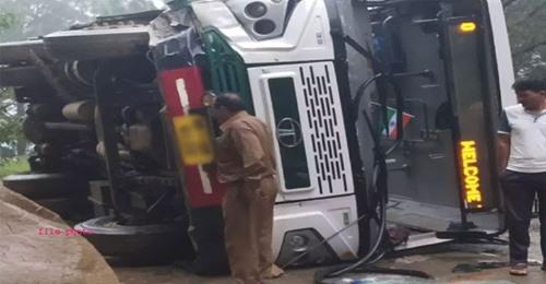 हिमाचल HRTC डिपो की बस हरियाणा के पानीपत में दुर्घटनाग्रस्त, और फिर