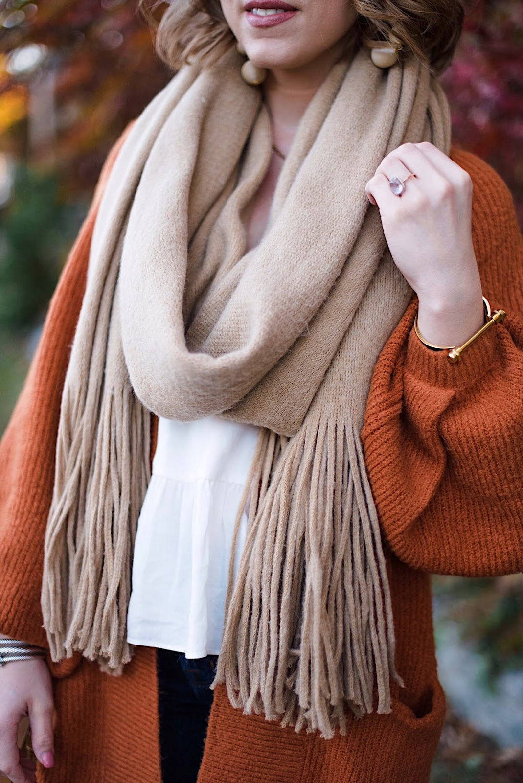 Free People Kolby Scarf - Something Delightful Blog