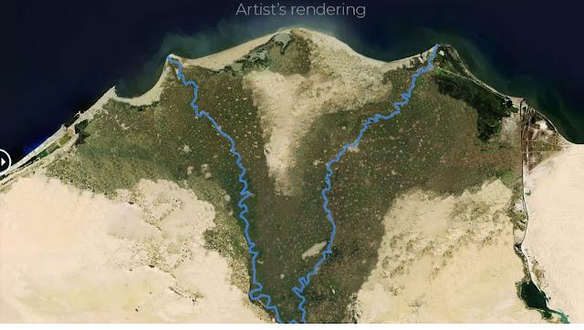 Nile delta Egypt