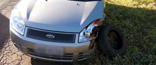 Veículo de Nova Cantu se envolve em acidente na PR-239