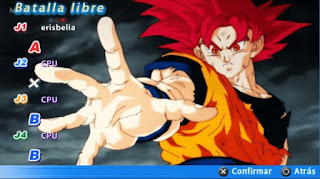DRAGON BALL TENKAICHI TAG TEAM ESTILO BUDOKAI TENKAICHI 4 COM MENU PERMANENTE [PARA ANDROID E PC PPSSPP]+DOWNLOAD/DESCARGA DBZ TTT