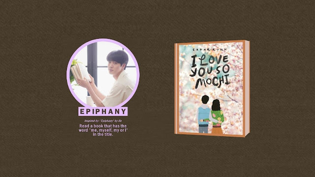 Kim Seok Jin EPIPHANY Prompt - Read a book that has the word 'me, myself, or I' in the title.