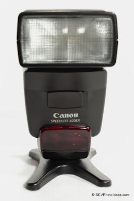 Canon Speedlite 420EX front
