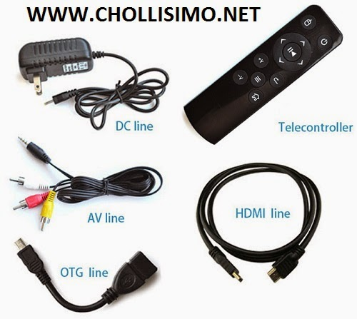 CHOLLAZO Android TV 41€