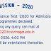 Cusrinagar Entrance 2020 - Answer Keys / Points / Lists Released Check Now @cusrinagar.edu.in