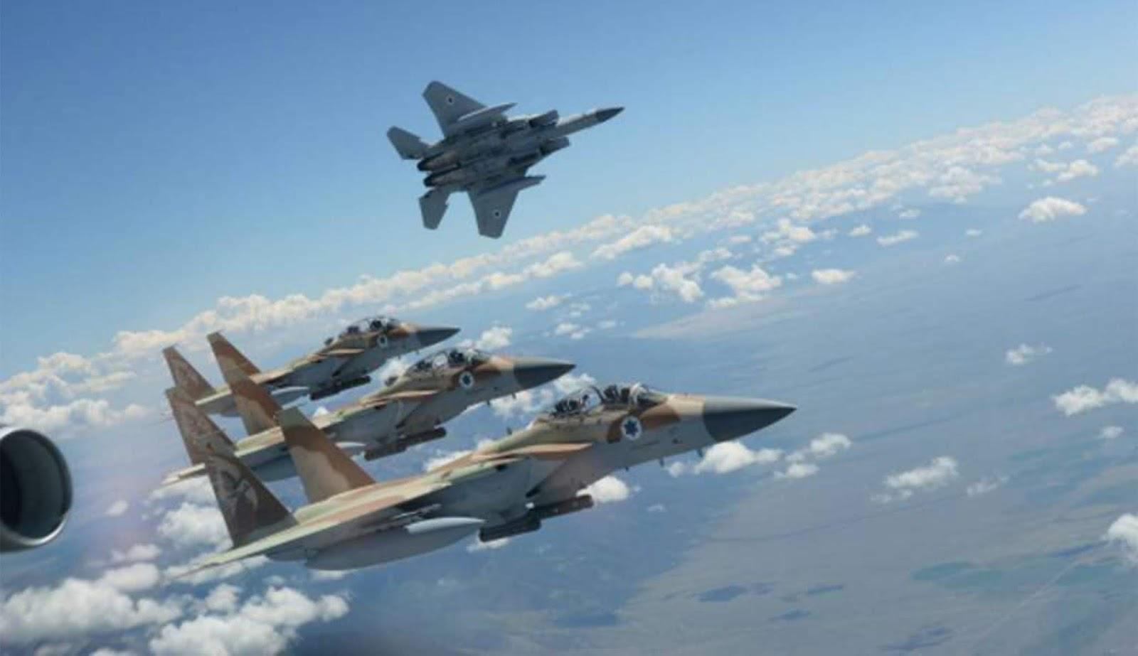 Israel menyerang sistem pertahanan udara Suriah