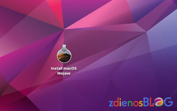 Membuat Installer USB Mac OS 10.14 Mojave
