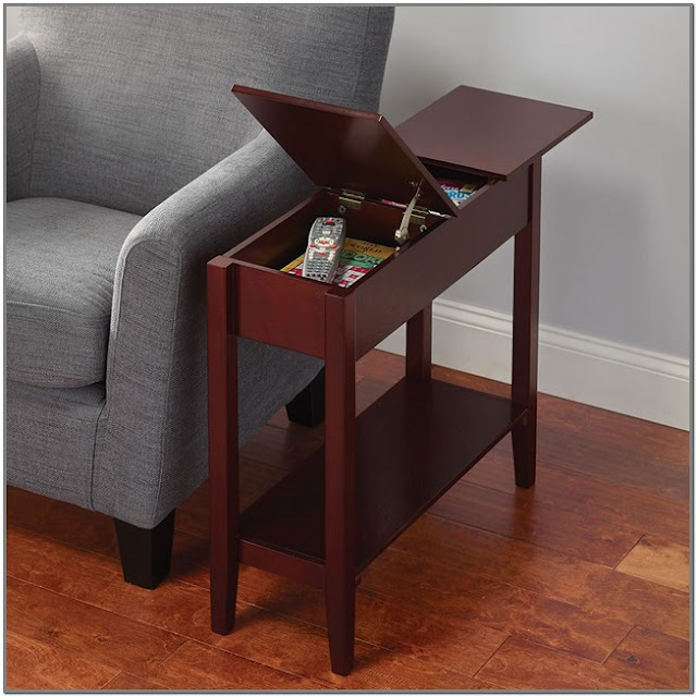 Small Coffee Table With Storage;Narrow Coffee Table With Storage;