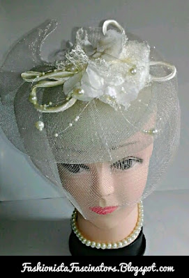 Cream fascinator hats for sale in Kenya