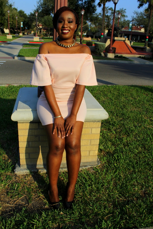 |Styled by Moi| Off The Shoulder Bodycon Dress from Zaful