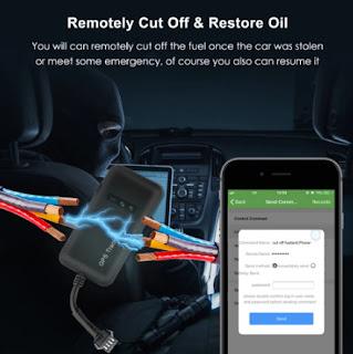 Mini GPS Car Tracker GPS Locator Cut Off Fuel TK110 GT02A