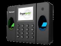 Absensi Sidik Jari Portabel Murah dan Handal dengan Baterai Backup Fingerspot Revo Duo-158BNC Series