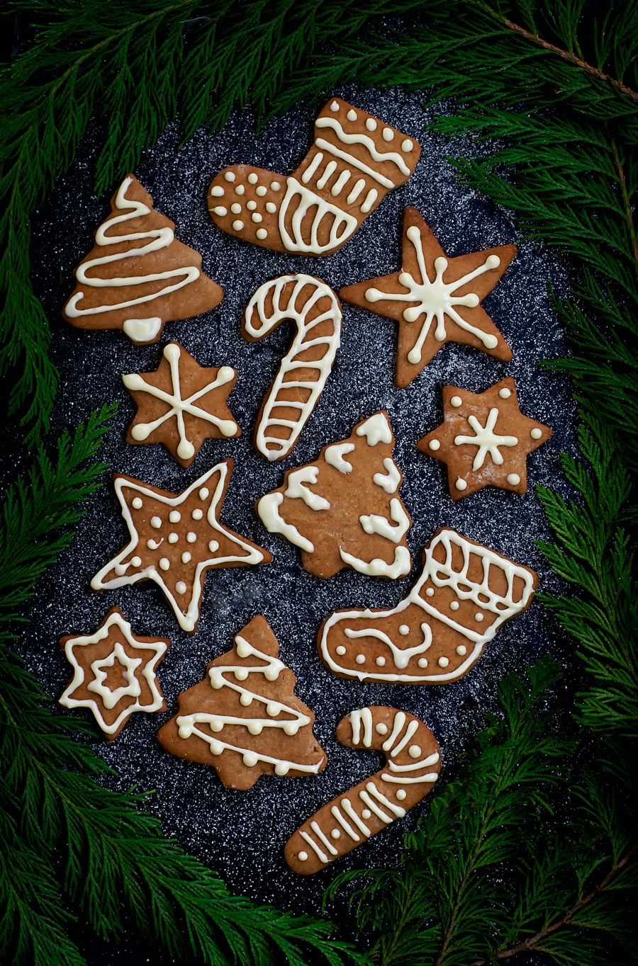 Vegan orange shortbread spiced with nutmeg, vanilla, cardamom, and allspice. Made with spelt flour and coconut sugar for a healthier option, these shortbread cutouts are crispy and bursting with winter flavours. Cut into your favourite shapes and decorate for a pretty food gift.