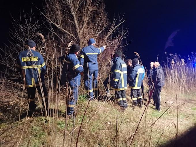 Έκτακτο Ημαθία - Βρέθηκε το αυτοκίνητο που έπεσε στο κανάλι
