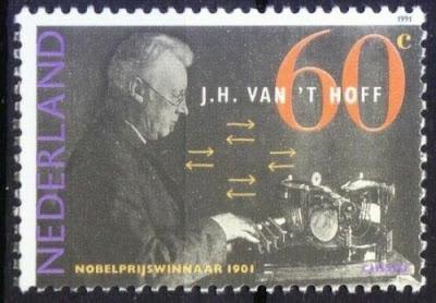 Netherlands 1991 MNH, J H van 't Hoff Nobel Chemistry Winner