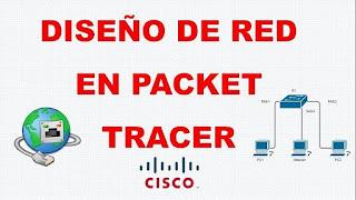 diseño de red en packet tracer