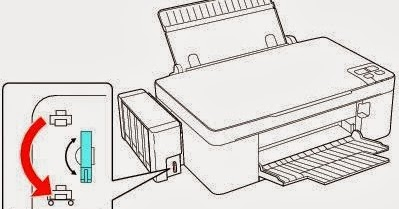 Common problems caused by transport blocking Epson L110
