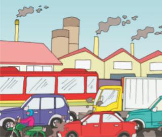 Faktor Lingkungan Kita bernapas untuk menghirup oksigen. Lingkungan kotor, asap kendaraan, asap pabrik, dan asap rokok mencemari udara. Udara tercemar menyebabkan ketersediaan oksigen menipis sehingga kita merasa sesak saat bernapas.