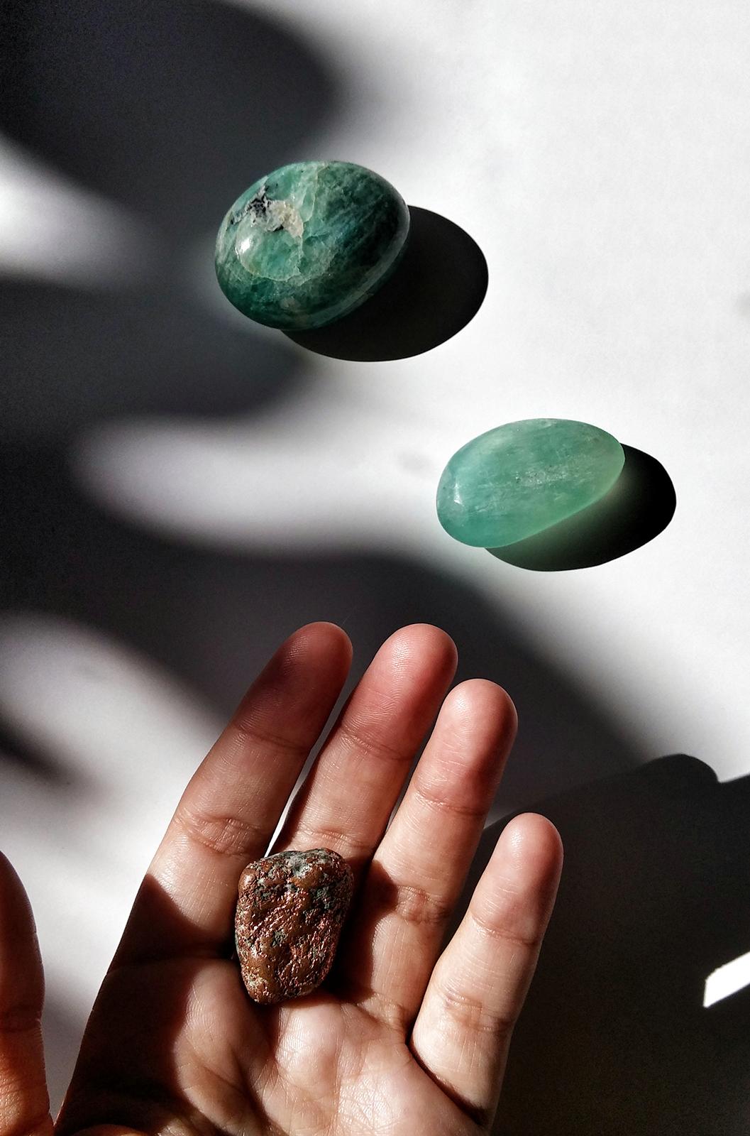 Comment les pierres m'accompagnent