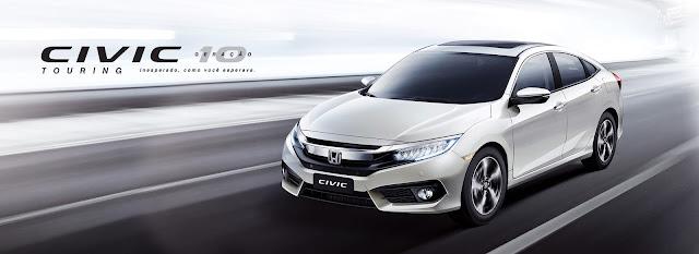 Honda Civic Geração 10 Touring