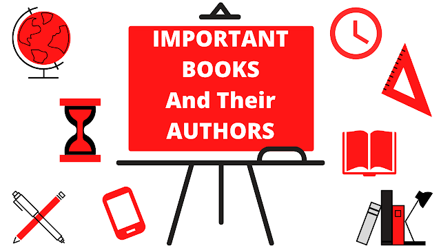 List of Important Books and their Authors | Static GK | PDF File