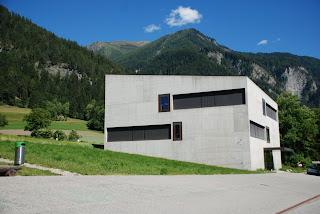 School house, Paspels - Velrio Olgiati