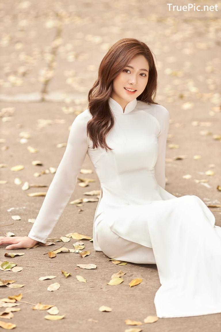 Image Vietnamese Model - Vietnamese Student Dresses (Ao Dai) - TruePic.net - Picture-4
