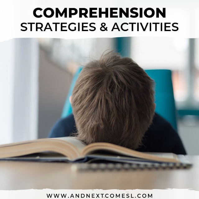 How to improve reading comprehension in kids with autism or hyperlexia - strategies, games, activities, and worksheets to help with making inferences, wh questions, and more!