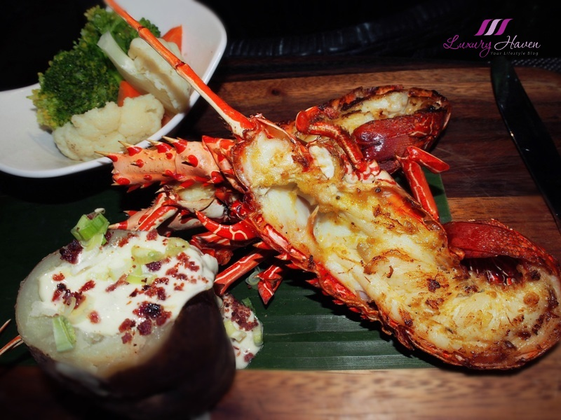 bintan lagoon resort nelayan seafood restaurant lobster review