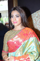 Shriya Saran Looks Stunning in Silk Saree at VRK Silk Showroom Launch Secundrabad ~  Exclusive 106.JPG