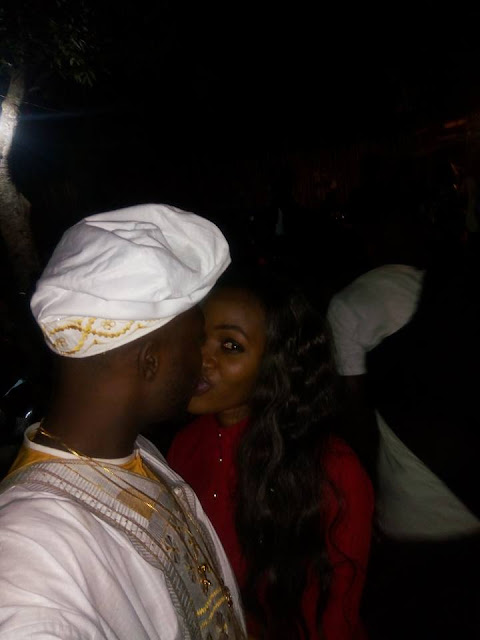 Waploaded Boss Fidelis Ozuawala Kisses His Girlfriend Passionately During His Graduation Party Tonight