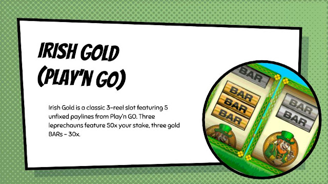 Irish Gold free classic slot by Play'n Go