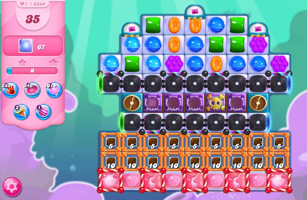 Candy Crush Saga level 8549