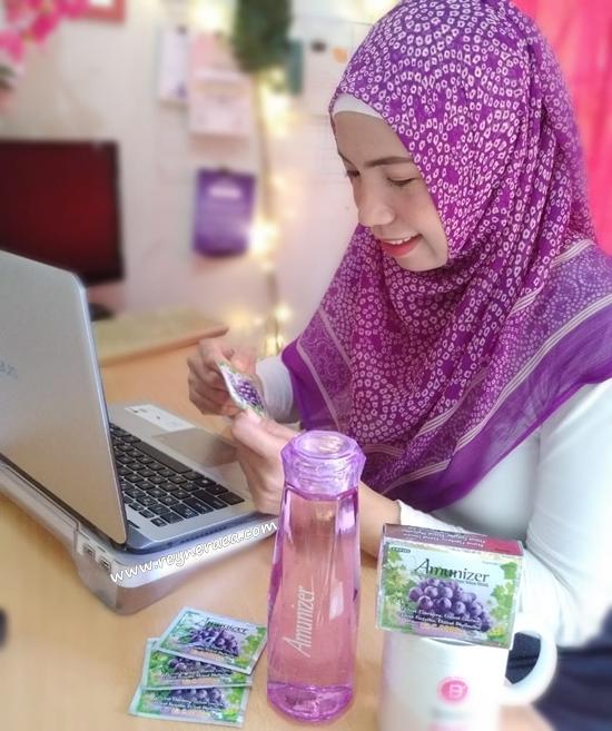 Cara Mom Blogger Menjaga Daya Tahan Tubuh Dengan Amunizer