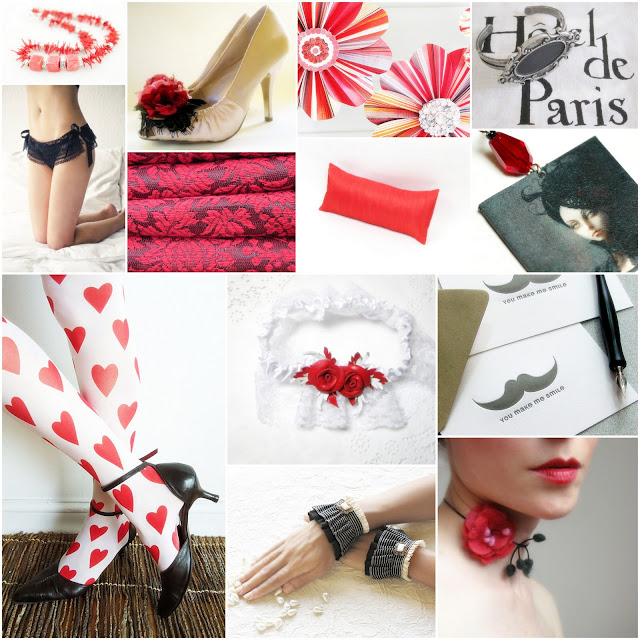 bridal+shower+gifts+red+black+white+theme+garden+party+alice+in+wonderland+wedding - Queen of Hearts