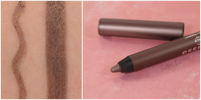 Essence Extreme Lasting Eye Pencil - Rockin' Taupe Swatches & Review
