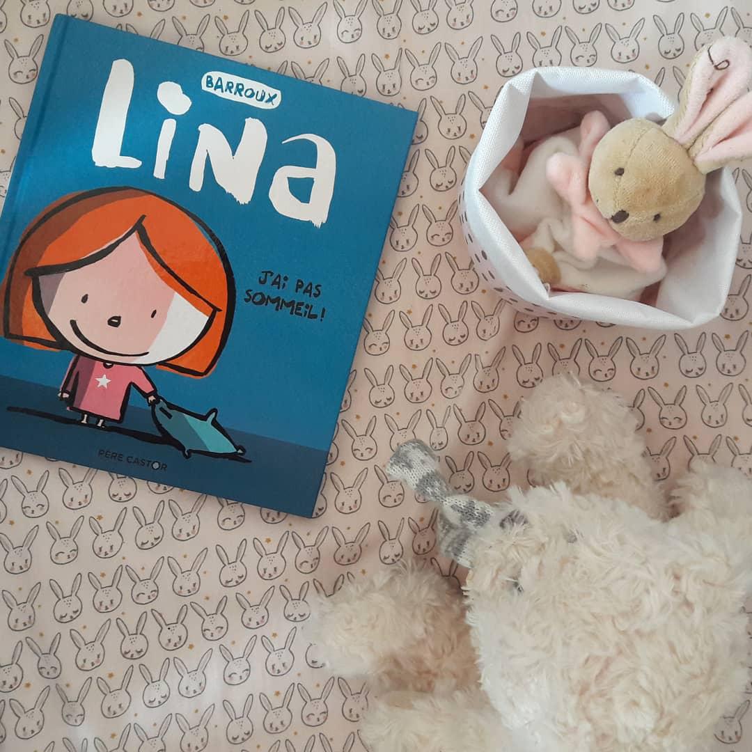 Lina : J'ai pas sommeil ! de Stéphane Barroux
