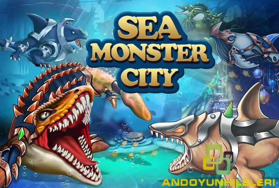 Sea Monster City v10.40 Hileli