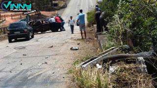 Acidente entre Ibicoara e Barra da Estiva