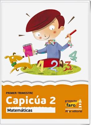 """""""Capicúa 2"""".  Actividades digitales de Matemáticas de 2º de Primaria. Ediciones Bromera."""