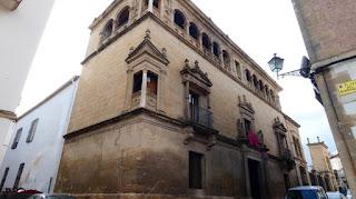 Úbeda, Palacio Vela de los Cobos.