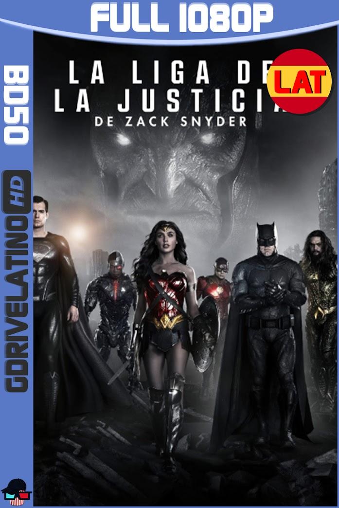 La Liga de la Justicia de Zack Snyder (2021) BD50 Full 1080p Latino-Ingles ISO