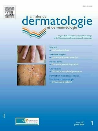 Annales de Dermatologie et de Vénéréologie janvier 2020.pdf