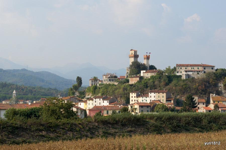 На просторах Тосканы, Италия. Сентябрь 2012 год.
