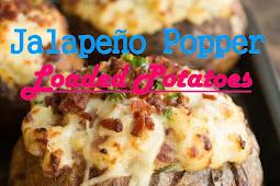 #Yummy #Jalapeño #Popper #Loaded #Potatoes