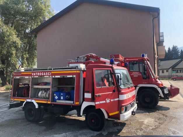 Opština Kotor donirala Službi zaštite Gusinje vatrogasno vozilo