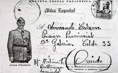 Carta de Belmonte a la cárcel de Oviedo