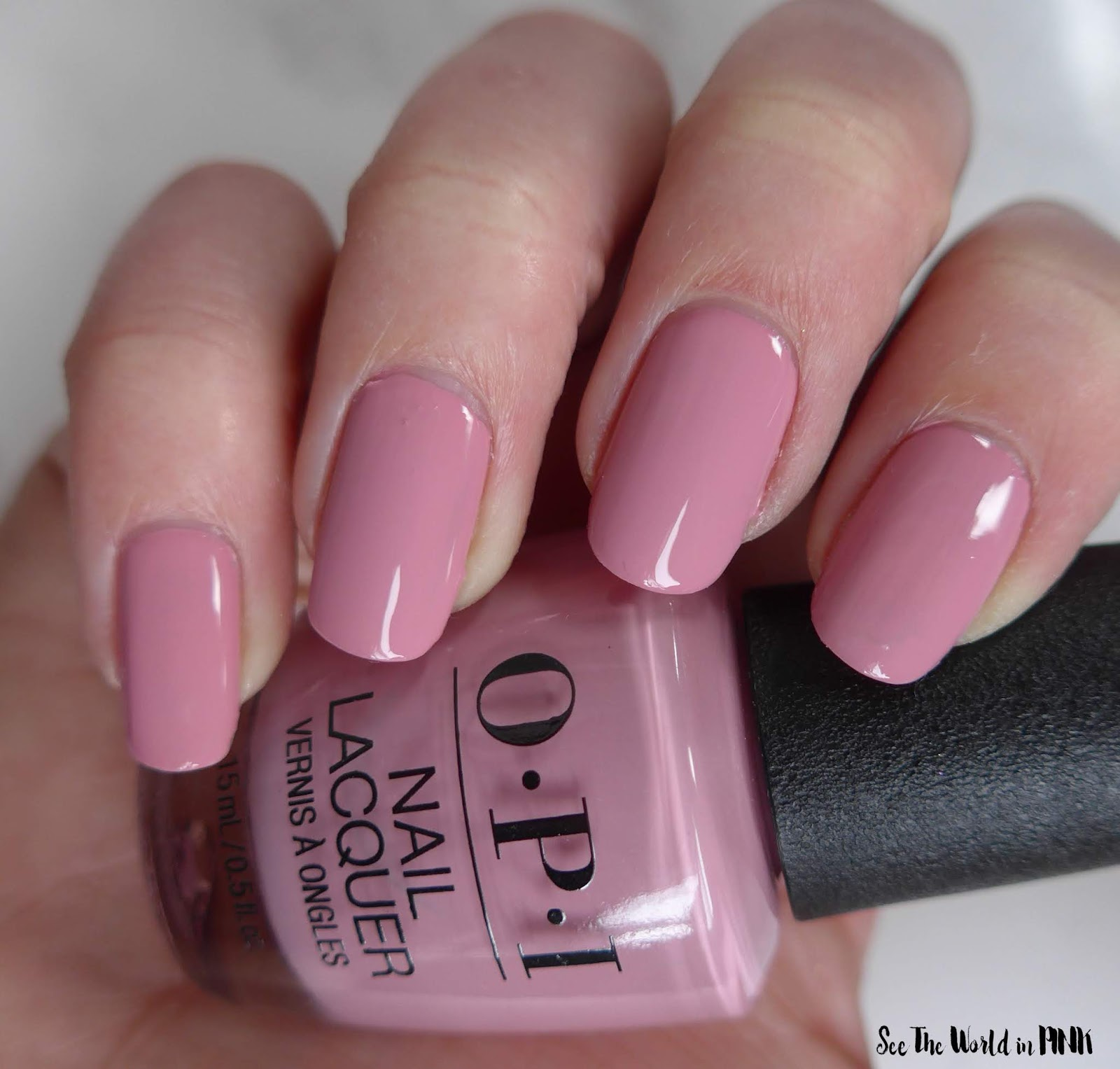 Manicure Monday - OPI Tokyo Collection for Spring and Summer 2019 Rice Rice Baby