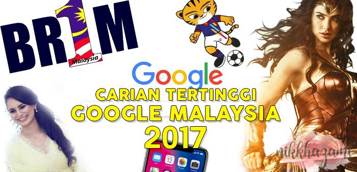 Carian Tertinggi Google Malaysia 2017